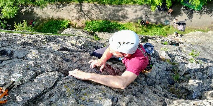 Kurzy lezení na skalách: 2hodinový nebo 4hodinový pro 1 až 3 osoby