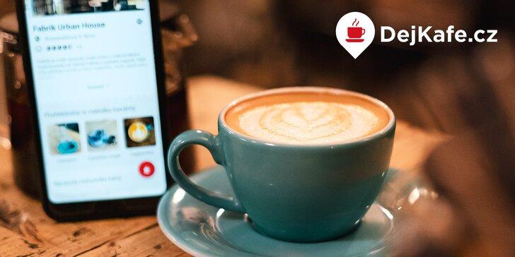 Espresso nebo cappuccino za 20 Kč ve vaší oblíbené kavárně v Praze a Brně s členstvím DejKafe.cz