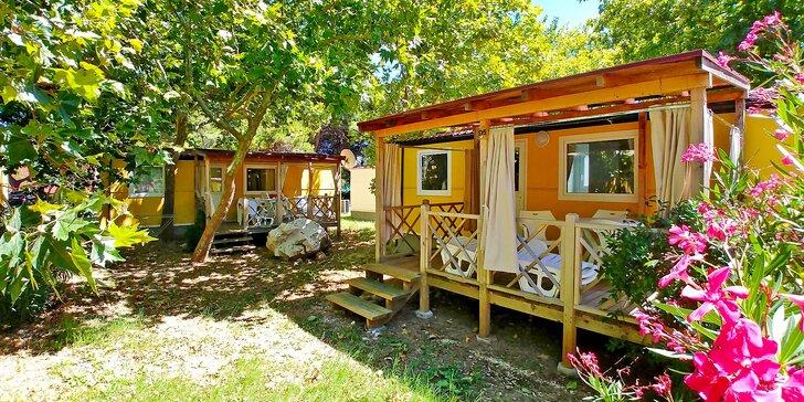 Chorvatsko – Orebić: klimatizovaný mobilní dům až pro 6 osob