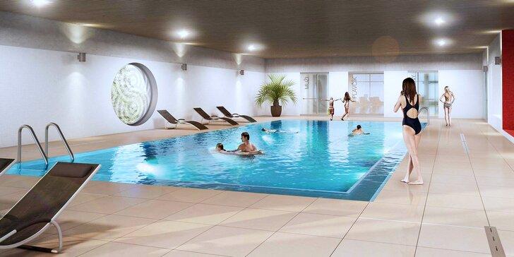 Večerní relaxace: 2 hodiny v moderním wellness centru pro 2 osoby