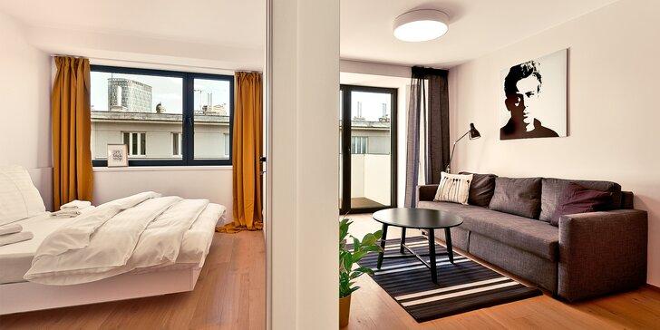 Bratislavské Staré Město: moderní vybavené apartmány až pro 5 osob