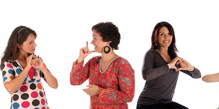 Týdenní intenzivní kurz českého znakového jazyka