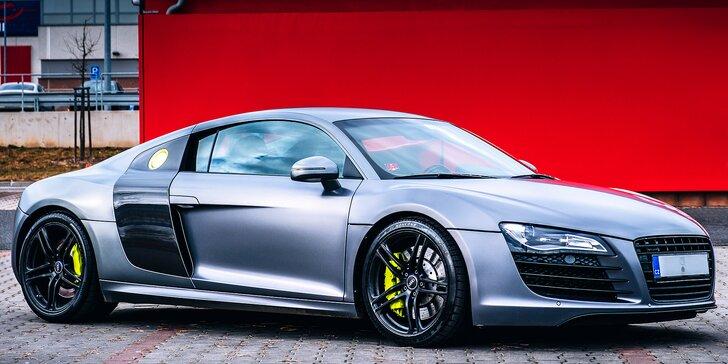 Užijte si opravdovou rychlost: jízda v Audi R8 na 30, 60 nebo 120 minut