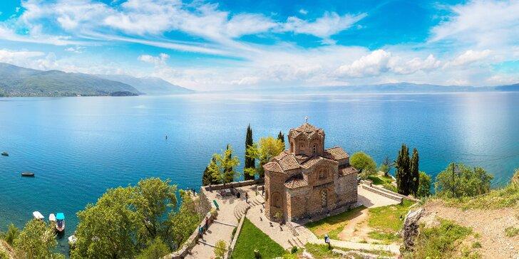 Pohádková Severní Makedonie: zájezd na 4 noci s polopenzí a průvodcem