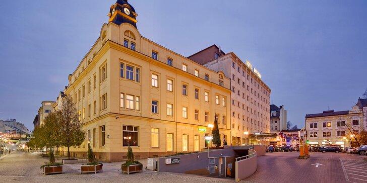 Pro dva nebo pro celou rodinu: 4* pobyt s jídlem v hotelu v Ostravě