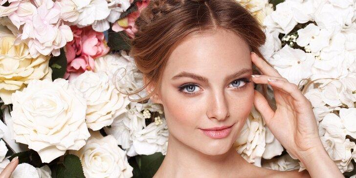Liftingové kosmetické ošetření rostlinnou bio kosmetikou