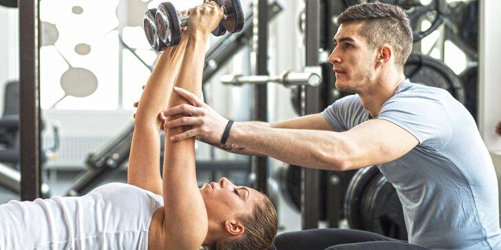 Pod dohledem trenéra: až dvě lekce osobního tréninku