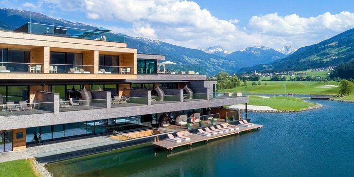 Dovolená v rakouském Zillertalu: neomezeně wellness, infrasauna na pokoji a snídaně či polopenze