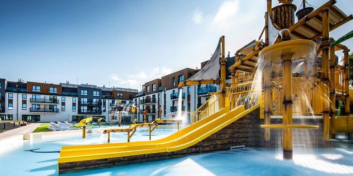 Nový resort na polském břehu Baltského moře: polopenze, vodní park či sauna i zábava pro děti