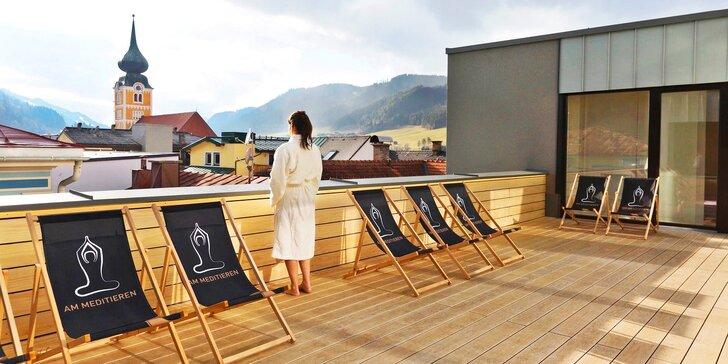 Dovolená v rakouském Schladmingu: hotel se snídaní či polopenzí, výhled na Dachstein
