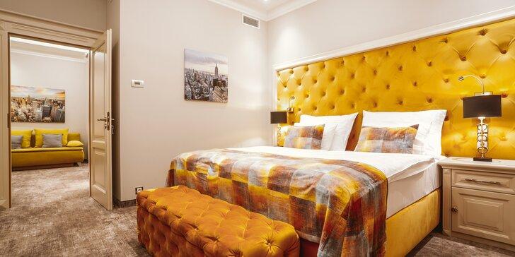 4* pobyt v Karlových Varech: hotel přímo u kolonád a bohaté snídaně