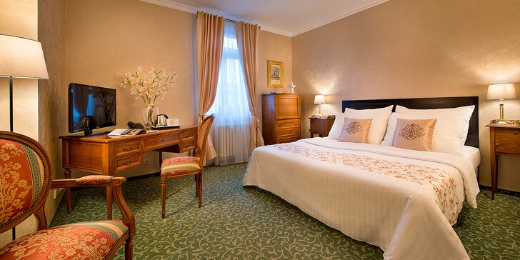 Andělský pobyt u Anděla: pohodlí a snídaně ve 4* hotelu Angelis na Smíchově