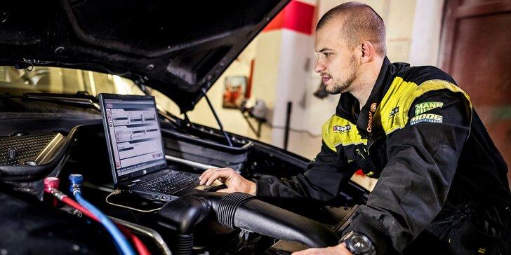 Čistá jízda: kompletní servis klimatizace a dezinfekce vozu ozónem