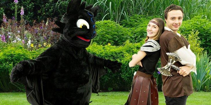 Jak vycvičit draka: dětský den na zámku Zbiroh i sleva na prohlídku zámku