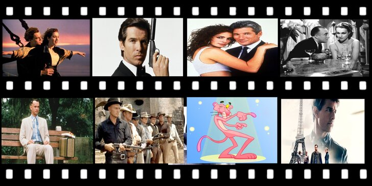 Slavné filmové a muzikálové melodie v zajímavém interiéru