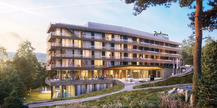 Polské Krkonoše: zbrusu nový eco friendly hotel, polopenze a neomezený wellness