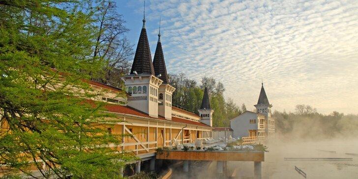 Dvoudenní výlet busem do Maďarska: termální jezero v Hévízu a barokní zámek