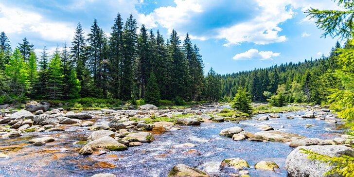 Jizerské hory na horské chatě pro 2 osoby: turistický pobyt na 2–7 nocí