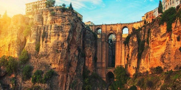 Letecky do Andalusie: 6 nocí se snídaní, návštěva Málagy a další program