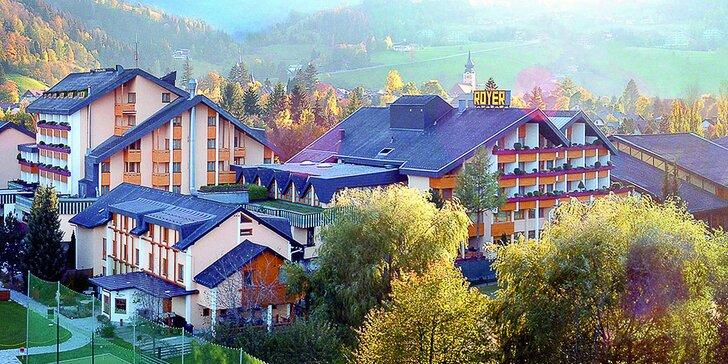 Alpské středisko Schladming: 4* hotel s polopenzí, wellness a spoustou aktivit pro celé rodiny