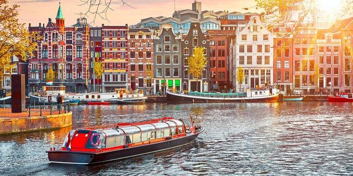 Za sýrem a větrnými mlýny: 2 noci se snídaní v Holandsku, Amsterdam i Zaanse Schans a Delft