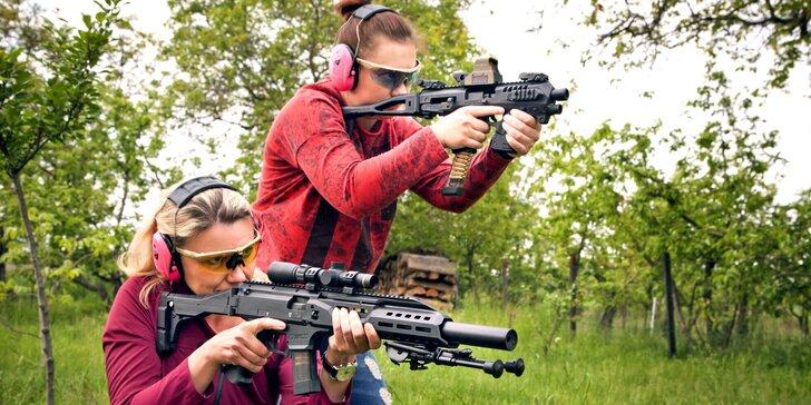 Střelba z pestré škály zbraní pro jednoho, dva i rodinu: až 230 výstřelů