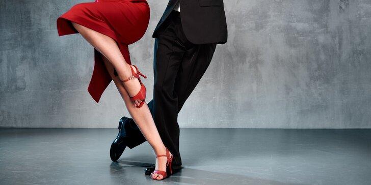 Argentinské tango: workshop pro začátečníky či balíčky na 5 až 10 lekcí