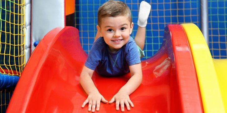 Hurá za zábavou do dětské herny: hodina, celý den nebo permanentka