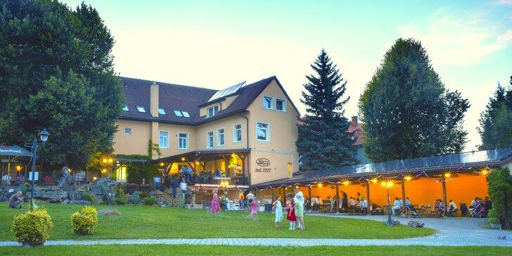 3* hotel v Bojnicích: pobyt pro 2-4 osoby se stravou i lahví vína