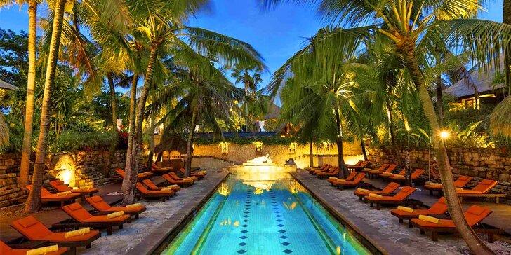 Skutečná exotika v 4* resortu na Bali: 6–12 nocí, snídaně, 2 bazény, u pláže
