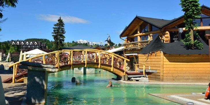 Vstupenky do termálního aquaparku i wellness Gorący Potok v jižním Polsku