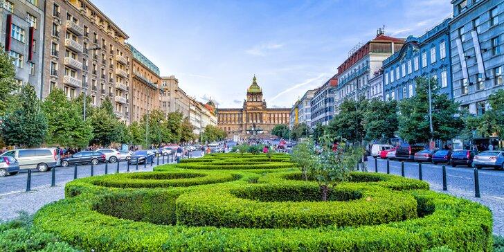 Léto v Praze: moderní hotel jen pár minut od centra