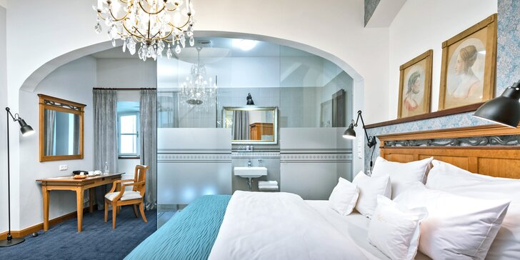 4* pobyt v centru Prahy pro pár i rodinu: luxusní pokoje, jídlo, privátní sauna i vstupenky do zoo