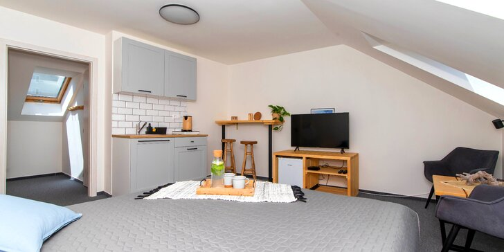 Letní či podzimní pobyt v Trenčianských Teplicích: moderní apartmány pro 2