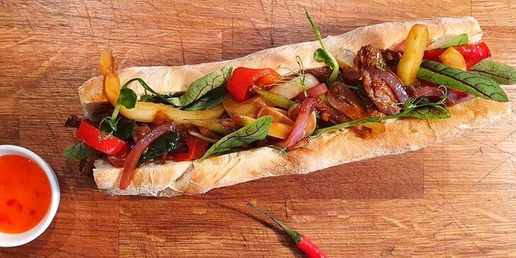 Kurz vaření: hovězí striploin steak, mexický wrap a vietnamský sendvič bánh mì