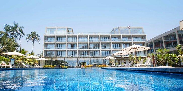 Luxusní pobyt na exotické Srí Lance: krásný resort u pláže, bazén i spa centrum