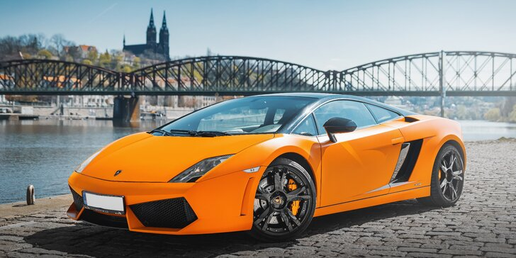 Pekelně rychlá jízda v nadupaném Lamborghini Gallardo