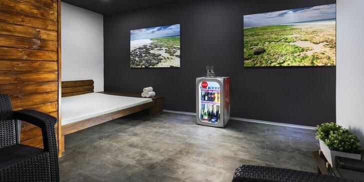 Hodina a půl relaxu ve Wellness Bory: finská sauna pro 2 osoby