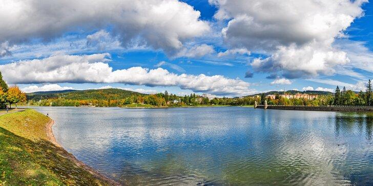 Pohoda v Jablonci nad Nisou: dovolená s polopenzí i privátním wellness