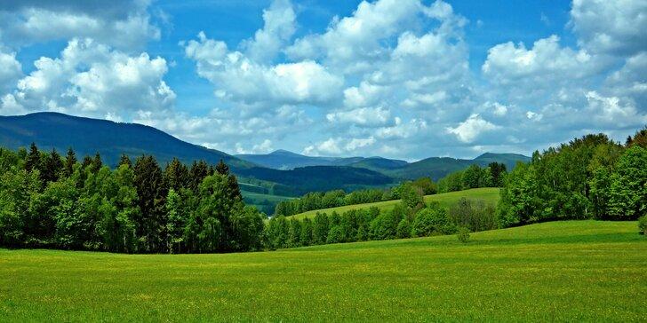 Krkonošská pohoda od léta do podzimu: až 8 dní s polopenzí a jízdenkou na lanovku