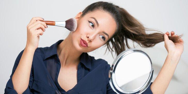 Svět krásy od A do Z: Konzultace či kurz líčení i make-up artu s vizážistkou