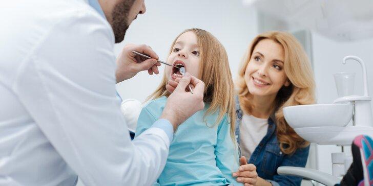 Pečujte o svůj chrup: dentální hygiena pro děti a dospělé i bělení zubů u Flory