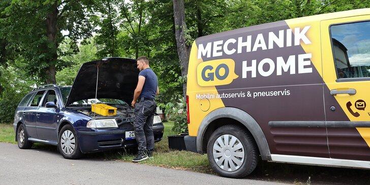 Automechanik až domů: kontrola před dovolenou, koupí i STK či přezutí