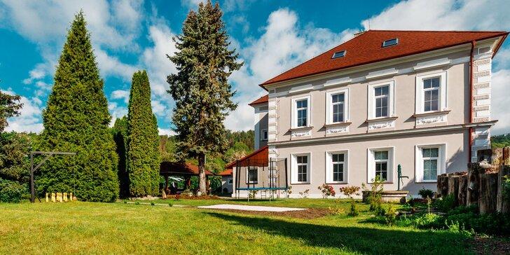 Pobyt u Ohře nedaleko Varů: komfortní pokoje, jídlo a relax ve wellness