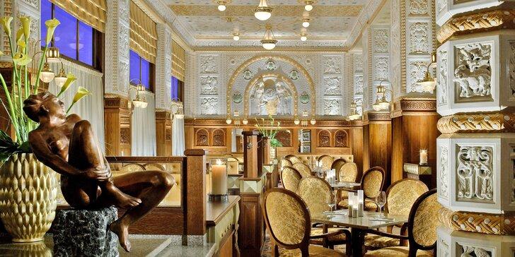 Slavný hotel Art Deco Imperial: pokoj Deluxe, snídaně u Zdeňka Pohlreicha