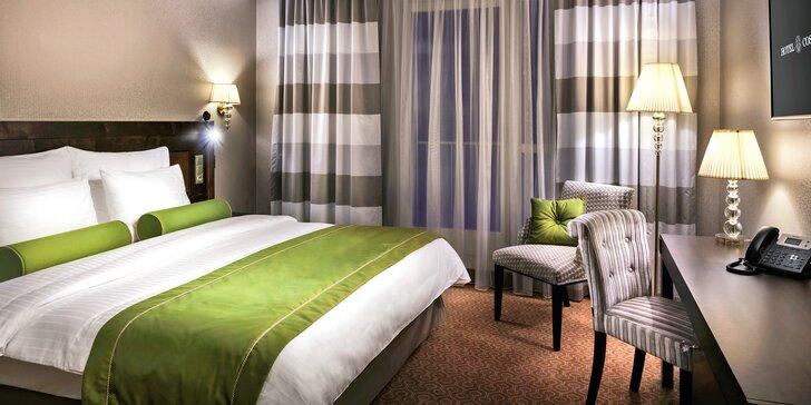 Pobyt v luxusním hotelu Cosmopolitan v centru Prahy a snídaně u Zdeňka Pohlreicha