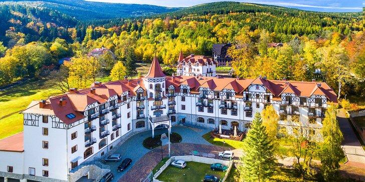 Dovolená v polských Jizerkách pro páry i rodiny: wellness pobyt v pohádkovém hotelu