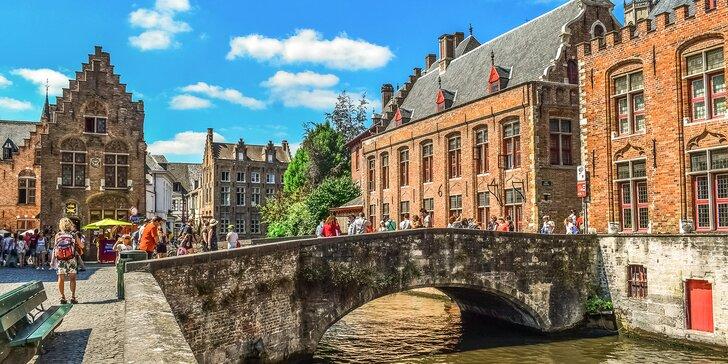 Poznávací zájezd do Belgie: vlámská města Bruggy, Gent a Brusel, doprava a 1 noc se snídaní