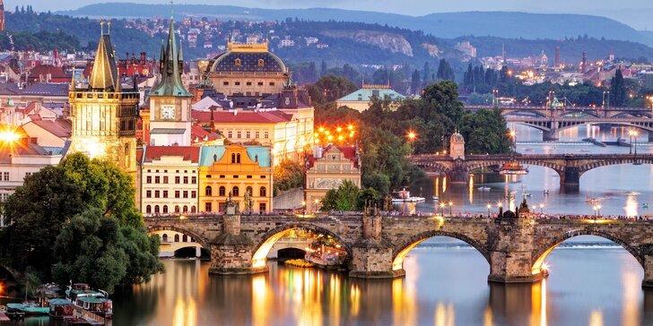 Centrum města a atmosféra staré Prahy: Pobyt v apartmánech na Starém Městě