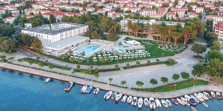 4* all inclusive pobyt na Krku: hotel u moře, bazény se skluzavkami, animace a vstup do akvária